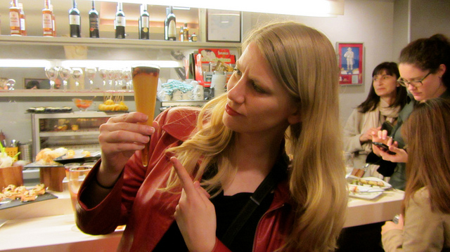 Elyse explores local food in San Sebastian, Spain