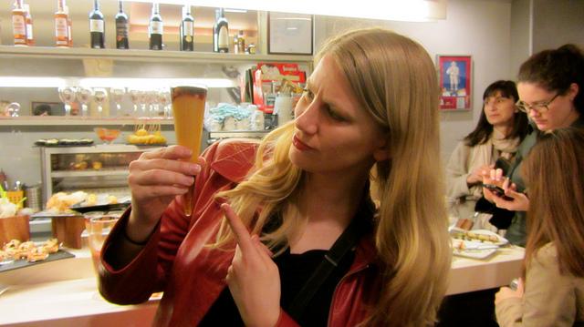 Elyse explores local food in San Sebastian, Spain