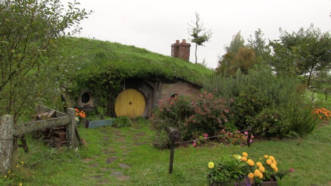 Hobbit House in the Shire, Hobbiton Movie Set